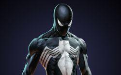 Black Suit Spider-Man in Marvel Puzzle Quest