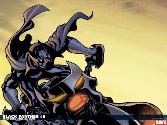 Black Panther (1977) #5 Wallpaper