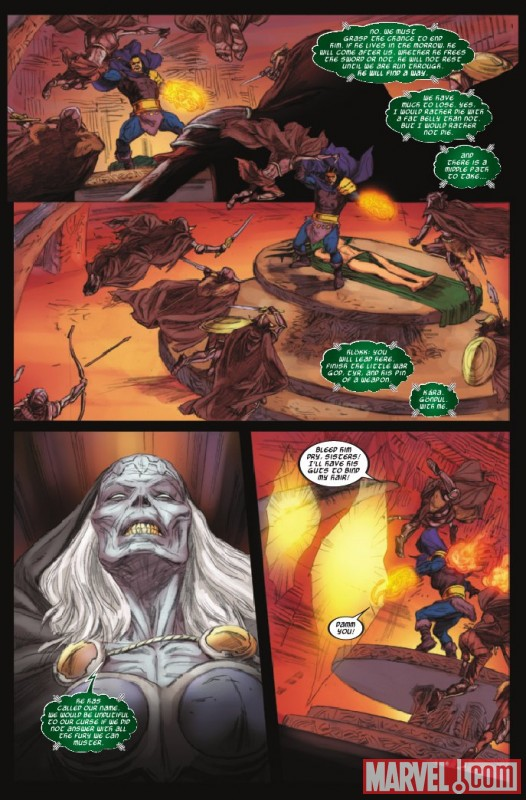 THOR #614 preview page by Dougie Braithwaite