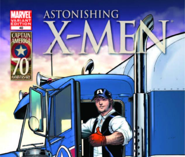 Astonishing X-Men (2011) #40, I Am Captain America Variant