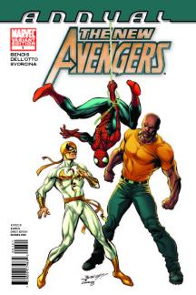 New Avengers Annual (2010) #1 (Architect Variant)