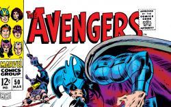 Avengers (1963) #50 cover