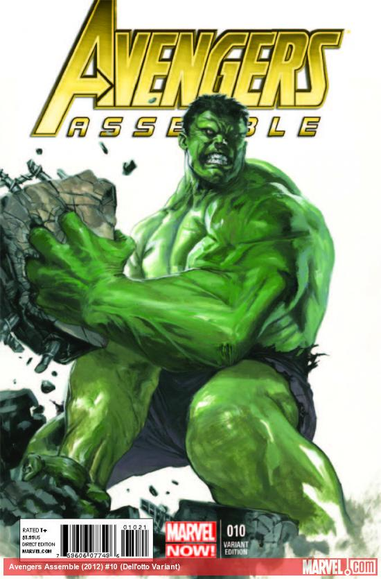 AVENGERS ASSEMBLE 10 DELL'OTTO VARIANT