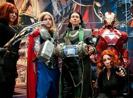 Visit the Marvel Booth at New York Comic-Con