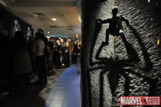 The Amazing Spider-Man trailer launch event in London