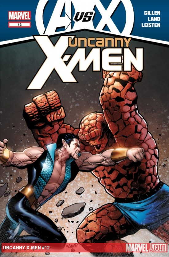 Uncanny X-Men (2011) #12 cover by Greg Land