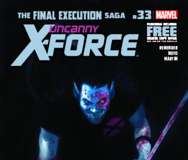 UNCANNY X-FORCE 33 (WITH DIGITAL CODE)