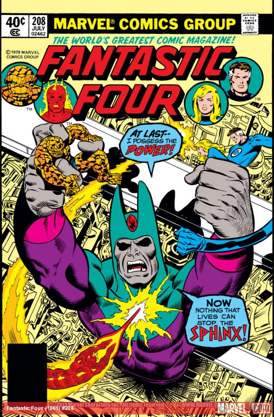 Fantastic Four (1961) #208 Cover