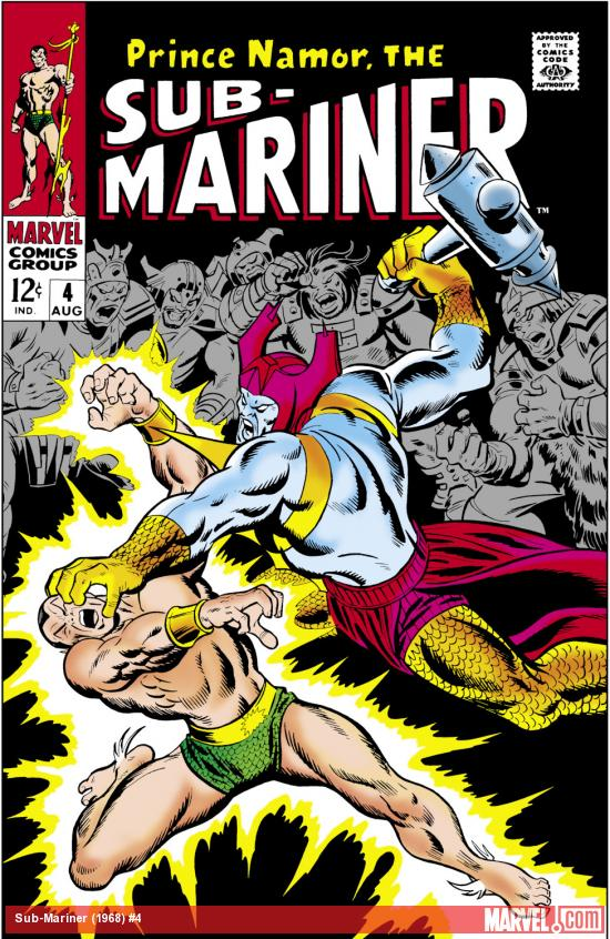 Sub-Mariner (1968) #4 Cover