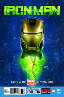 Iron Man (2012) #5 (2nd Printing Variant)
