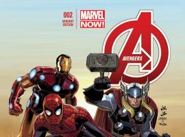 cover from Avengers (2012) #2 (JRJR VARIANT)