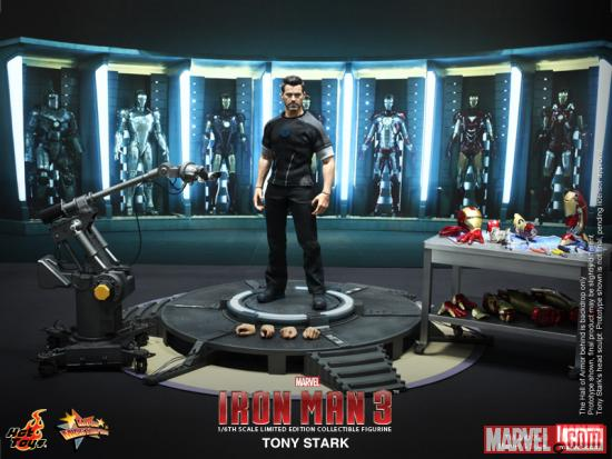 Iron Man 3 Tony Stark Figure from Hot Toys 6