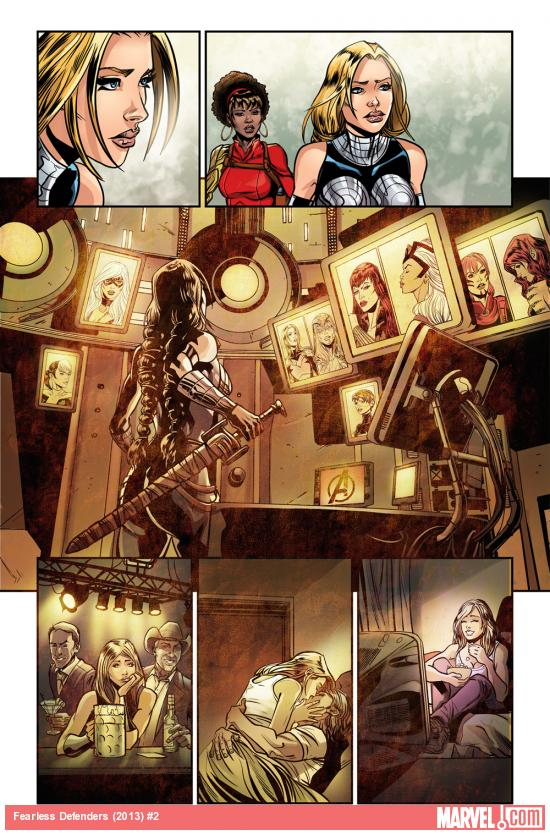 Fearless Defenders #2 preview art by Will Sliney