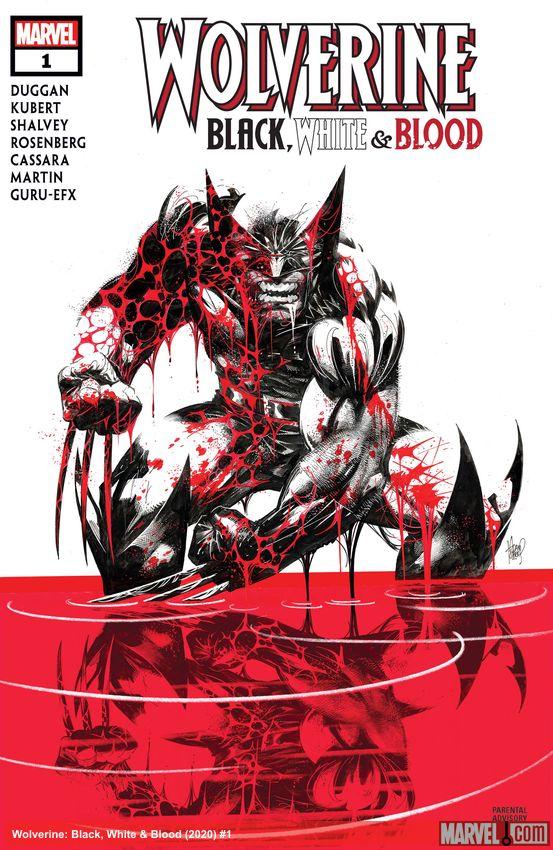 Wolverine: Black, White & Blood (2020) #1