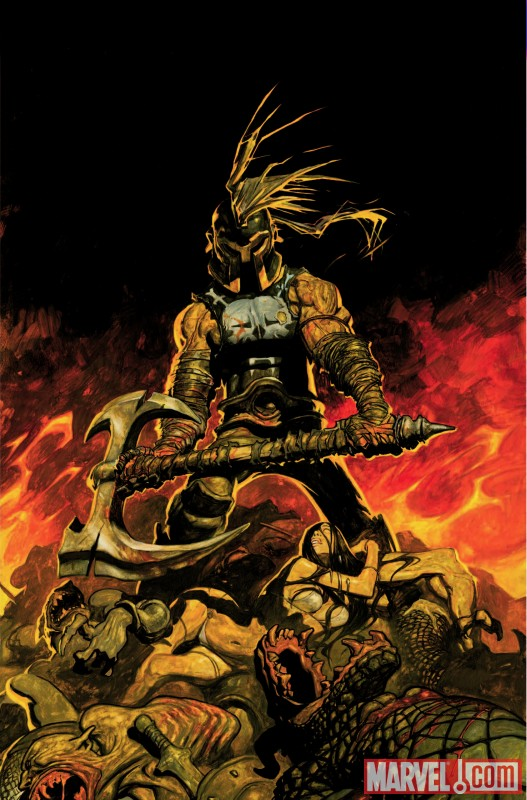 The Savage Axe of Ares #1 cover by Rafa Garres