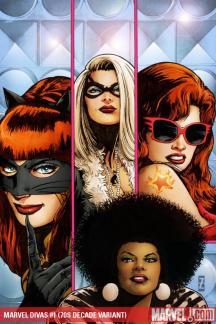 Marvel Divas (2009) #1 (70S DECADE VARIANT)