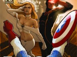 X-Men (2010) #9, CAPTAIN AMERICA 70TH ANNIVERSARY VARIANT