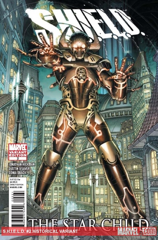 S.H.I.E.L.D. (2011) #2, Historical Variant
