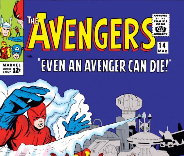 Avengers (1963) #14 cover