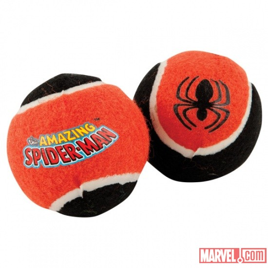 Spider-Man Tennis Balls by Fetch available at PetSmart