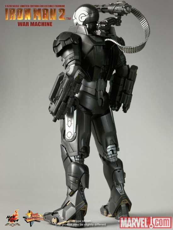 War Machine 12-inch Movie Masterpiece Series Figure from Hot Toys