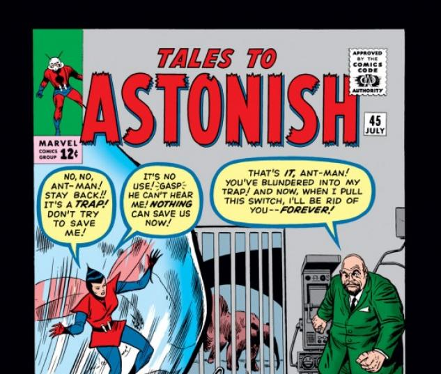 Tales to Astonish #45