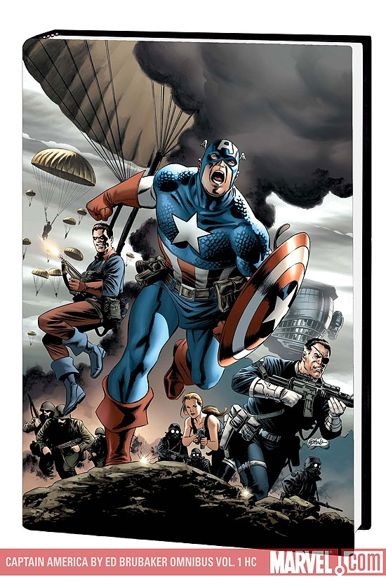 CAPTAIN AMERICA BY ED BRUBAKER OMNIBUS VOL. 1 #0