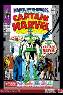 Marvel Masterworks: Captain Marvel Vol. 1 (Hardcover)