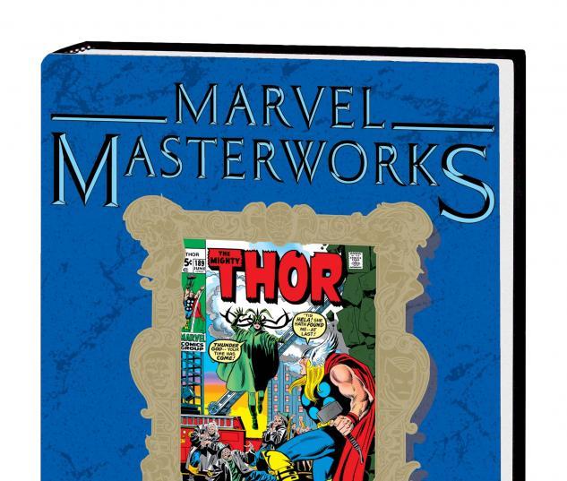 Marvel Masterworks: Mighty Thor Vol. 10 HC DM Only Variant