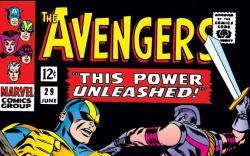 Avengers (1963) #29 cover