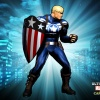 Alternate Captain America skin from the Marvel vs. Capcom 3 DLC pack