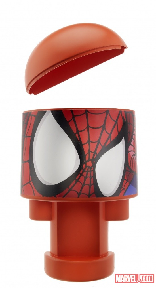 Bonka Zonks Spider-Man head quarters