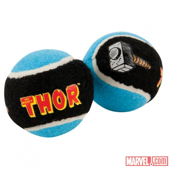 Thor Tennis Balls by Fetch available at PetSmart