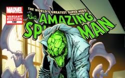 AMAZING SPIDER-MAN 688 CAMPBELL LIZARD VARIANT (1 FOR 50, WITH DIGITAL CODE)