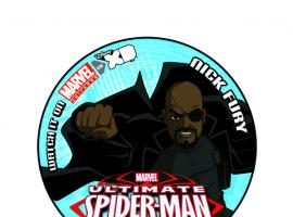 Ultimate Spider-Man San Diego Comic-Con exclusive button