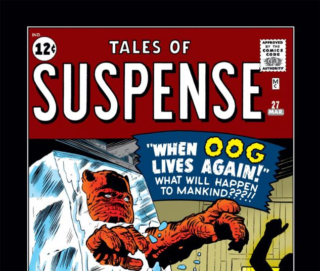 Tales of Suspense (1959) #27 Cover
