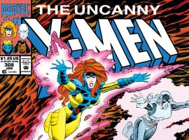 Uncanny X-Men (1963) #308 Cover