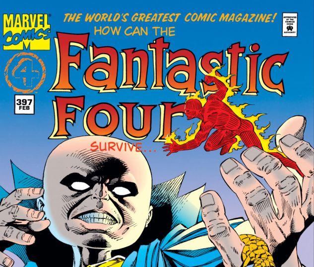 Fantastic Four (1961) #397 Cover