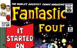 Fantastic Four (1961) #29 Cover