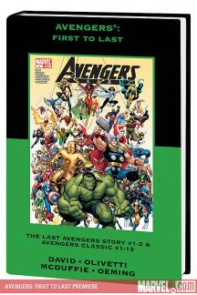Avengers: First to Last (Hardcover)