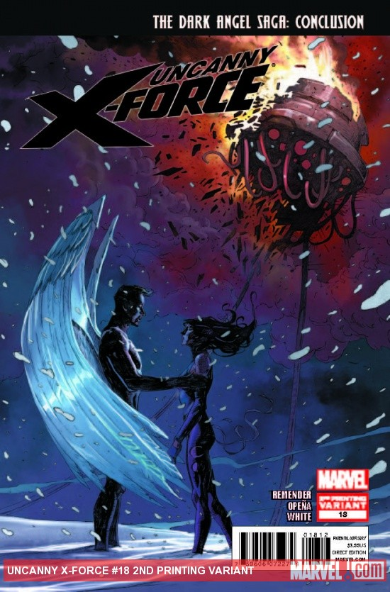 UNCANNY X-FORCE 18 2ND PRINTING VARIANT