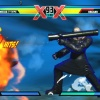 Nemesis and Haggar in Ultimate Marvel vs. Capcom 3 for the PlayStation Vita