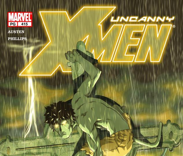 Uncanny X-Men #415 Cover