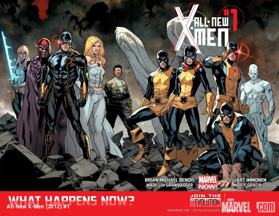 All-New X-Men (2012) #1 Cover