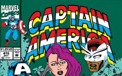 Captain America (1968) #415 Cover