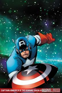 Captain America & the Korvac Saga (2010) #1