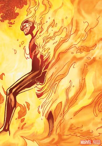 Phoenix Five Cyclops by Olivier Coipel