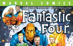 Fantastic Four (1998) #47 Cover