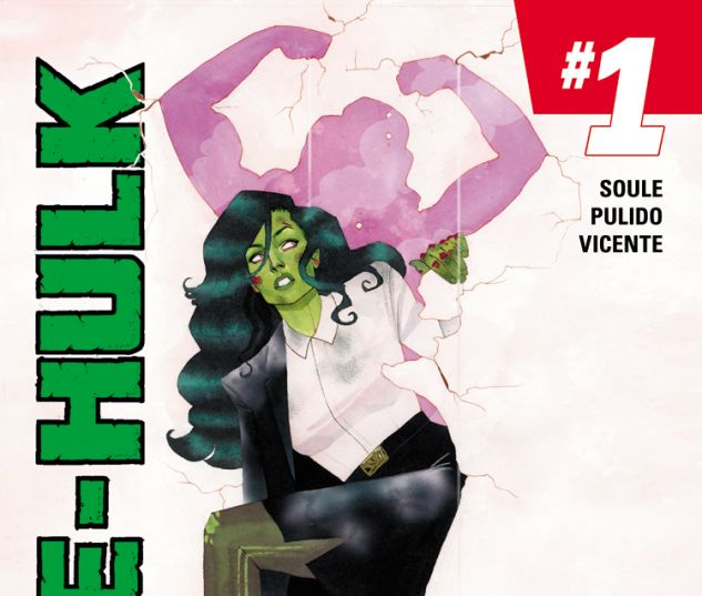 cover from She-Hulk (2014) #1