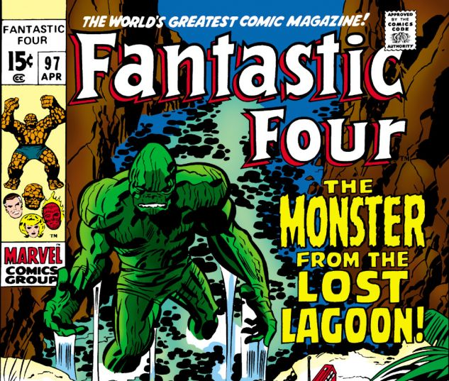 Fantastic Four (1961) #97 Cover